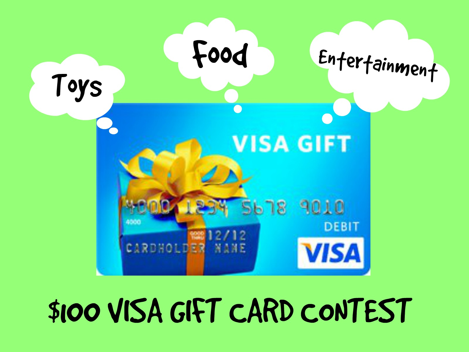 $100 Visa Gift Card Contest