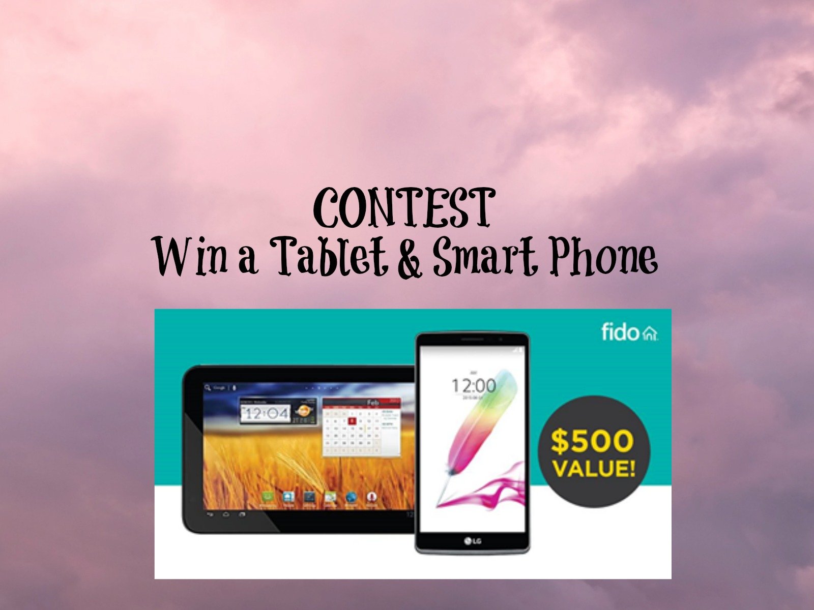 CONTEST: Tablet & Cell Phone Prize Pack