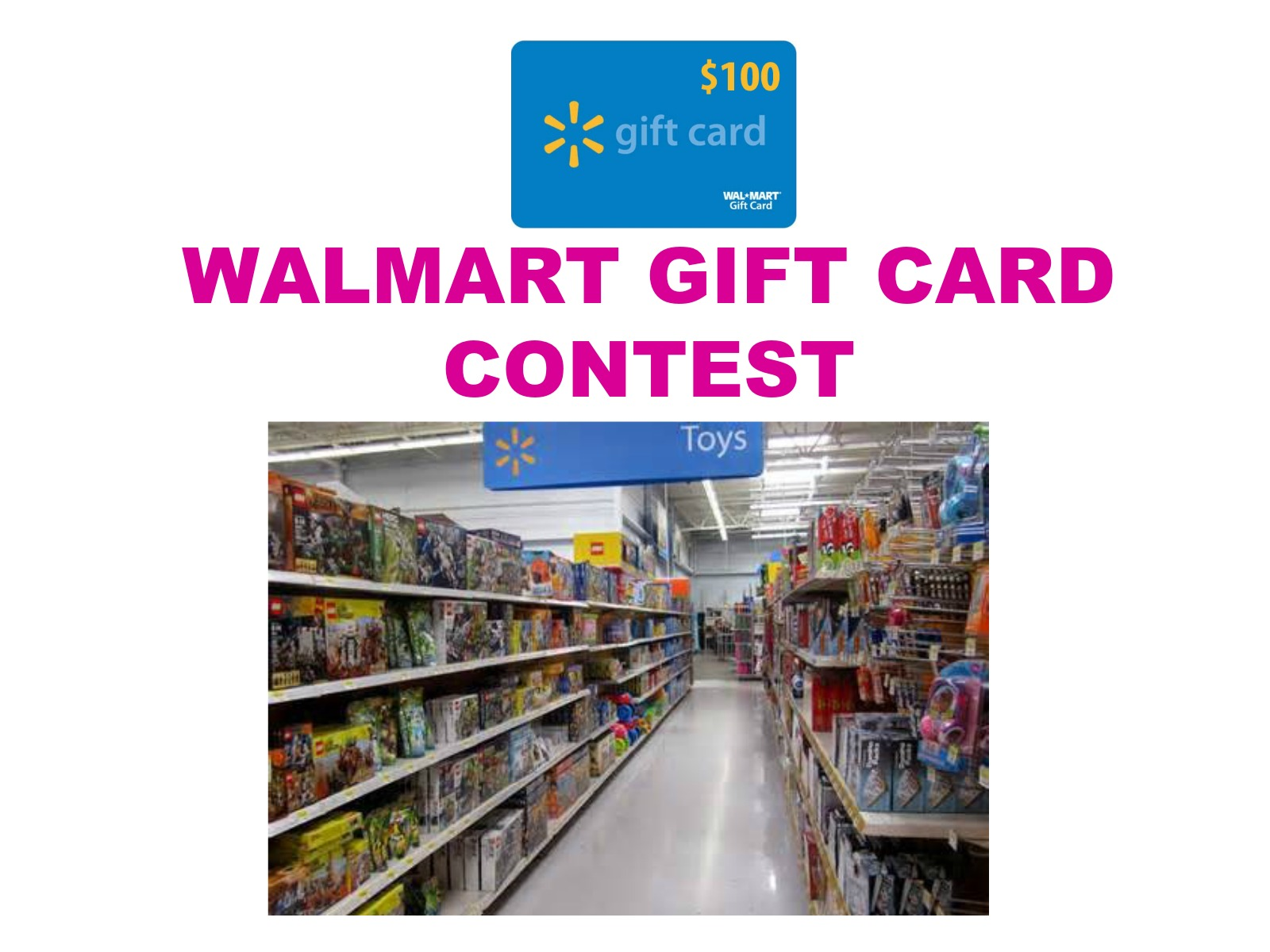 $100 Walmart Gift Card Contest