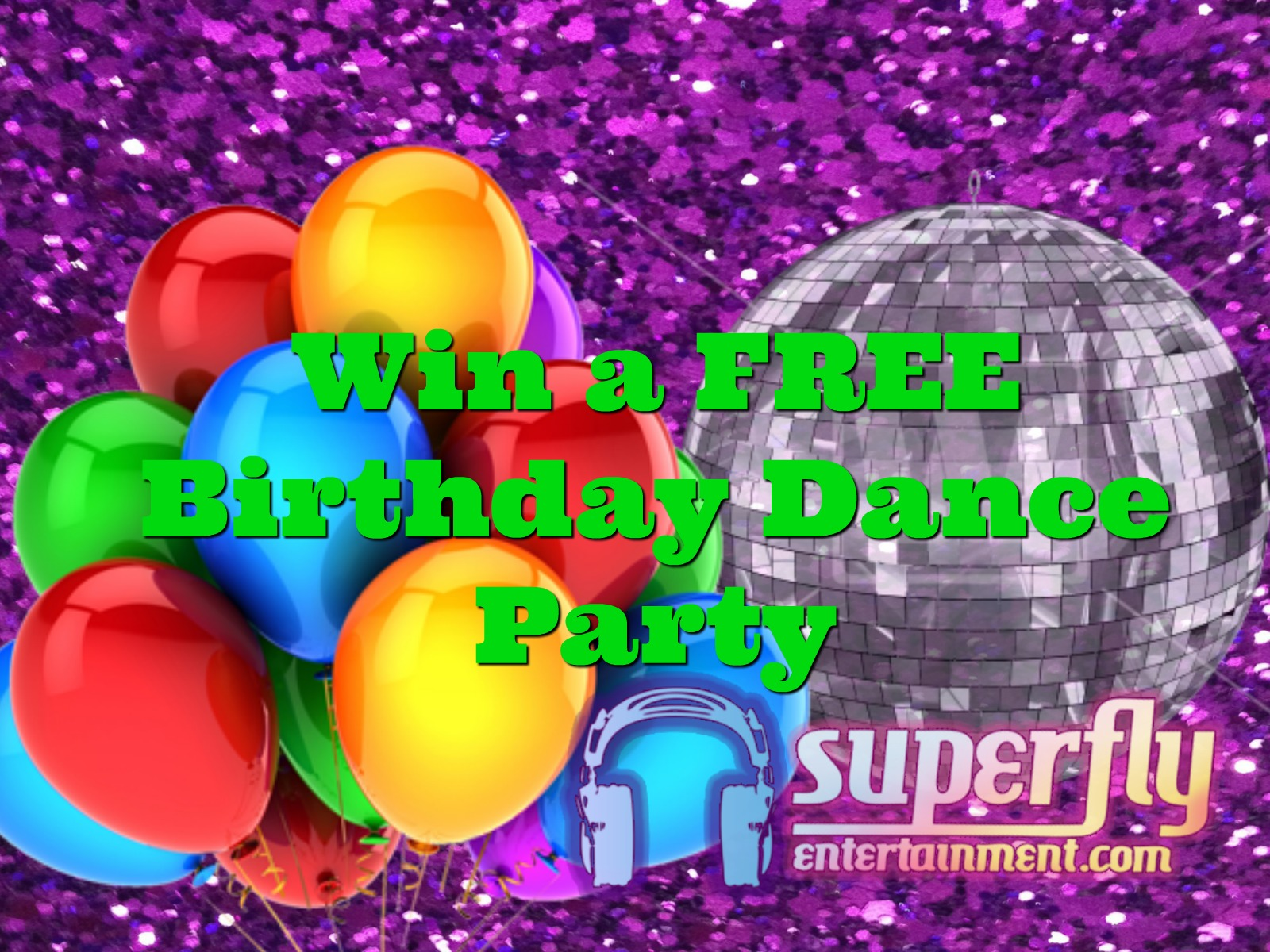 CONTEST: WIN A BIRTHDAY DANCE PARTY!