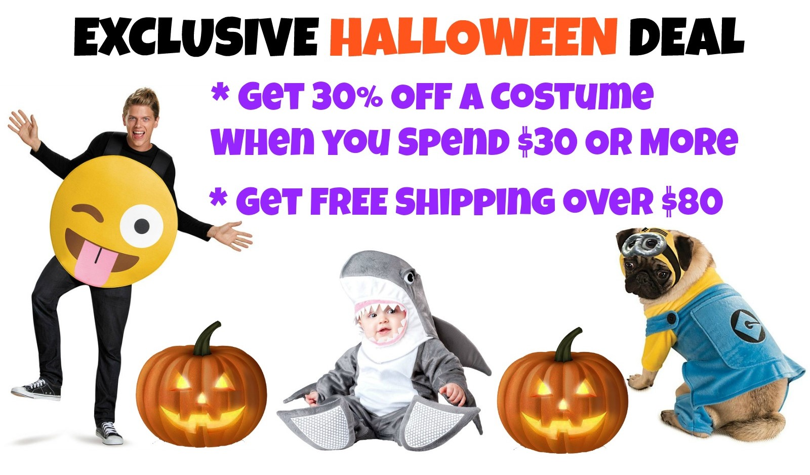 The Halloween Costume Deal is Back!