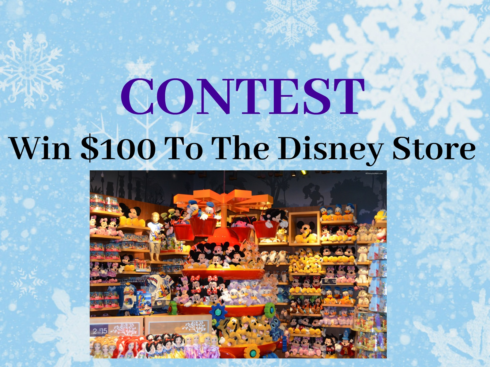 CONTEST: Win A Disney Store Gift Card