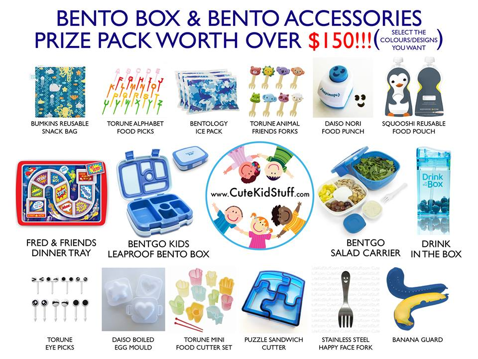 CONTEST: Win a Bento Box Prize Pack
