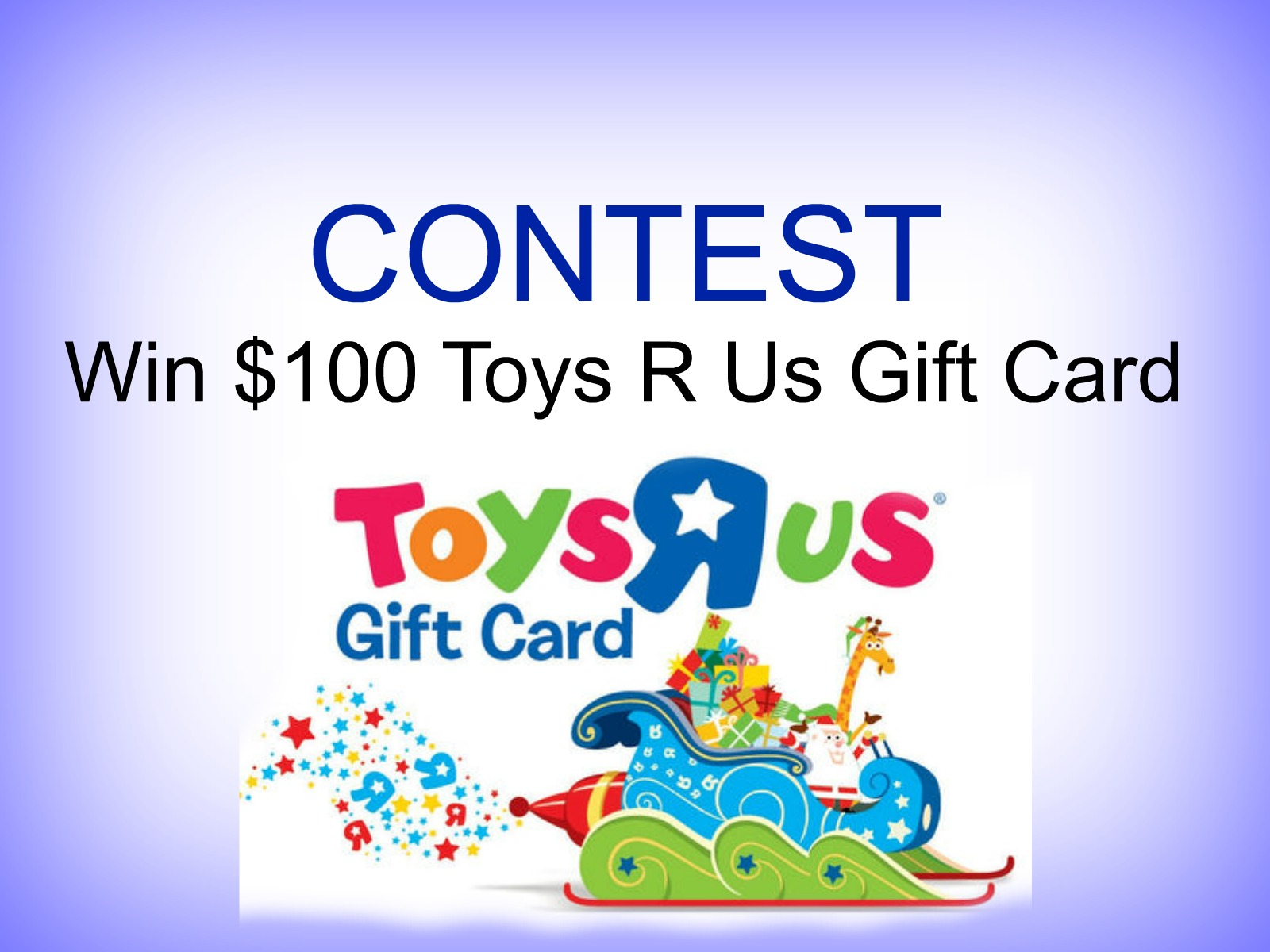 CONTEST: Win $100 TOYS R US