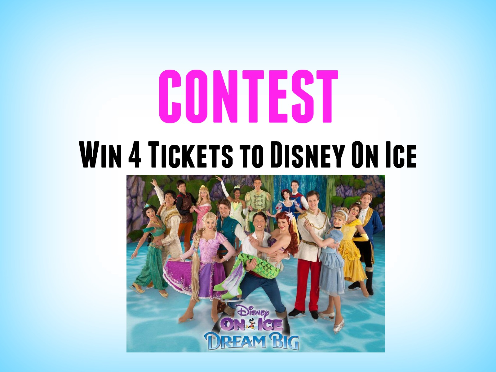 CONTEST: WIN DISNEY ON ICE TICKETS