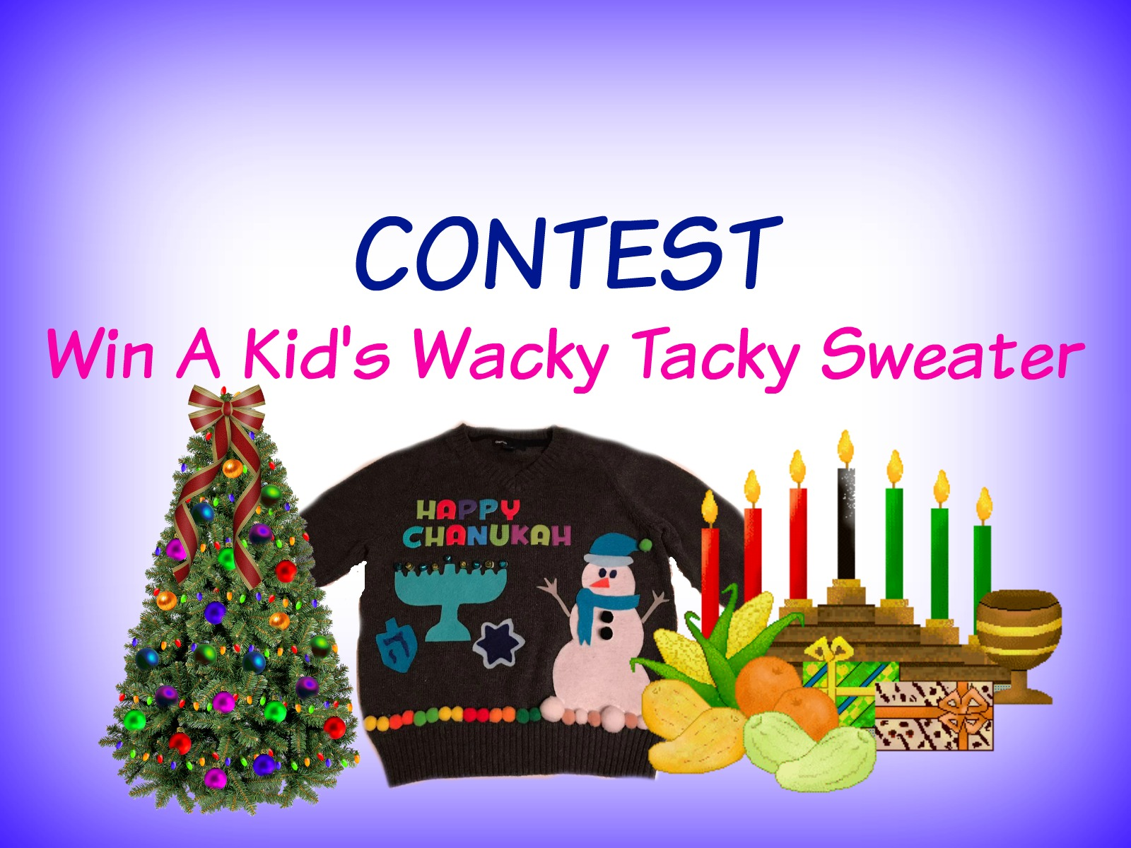 Contest: Win A Wacky Tacky Sweater (24 Hour Contest)