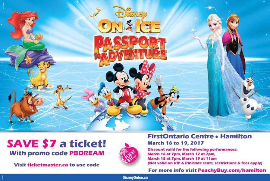 Ticketmaster coupon code disney on ice 2018