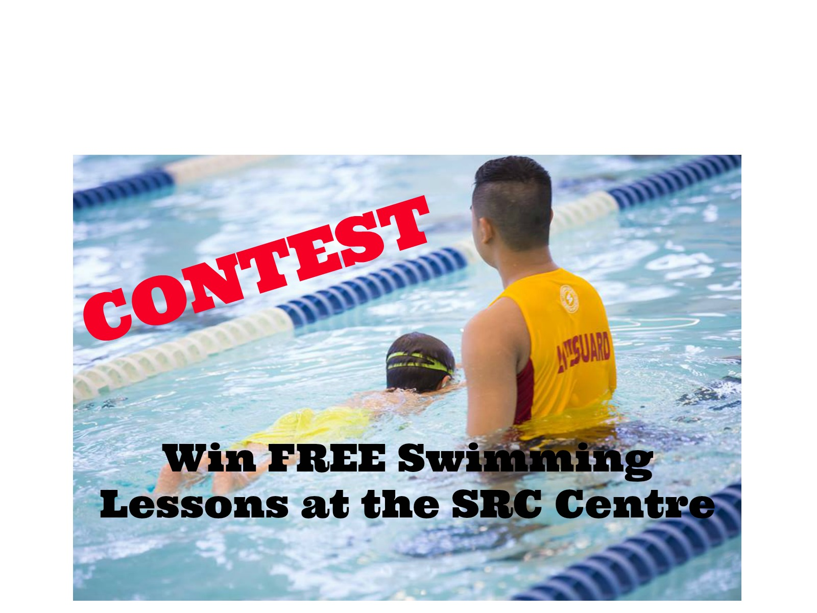 CONTEST: Win FREE Swimming Lessons at the SRC