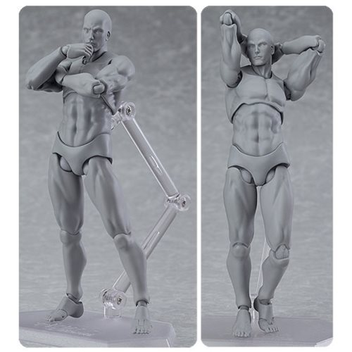 Next Lighting Corp Male Gray Color Figma Archetype Next Action Figure - Max