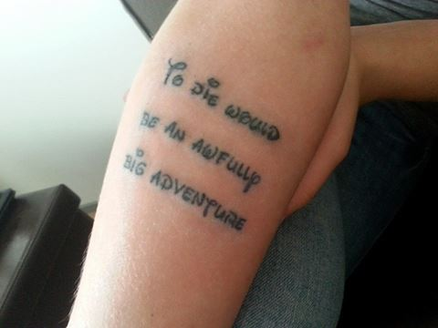 Quote Photo Wallpapers 20 Best Quote Tattoos Inspired From Walt Disney Movies