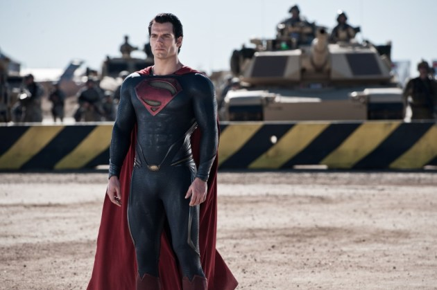 Facing not the Roman Army but the invaders from Krypton
