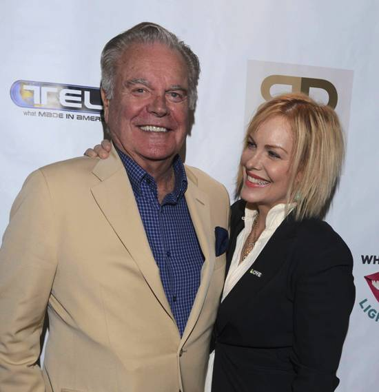 Robert Wagner & daughter Katie at Emmy Style Suite