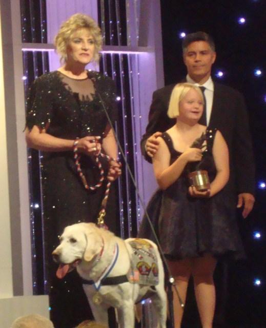 Hallmark's Hero Dog Awards (photo by Margie Barron)