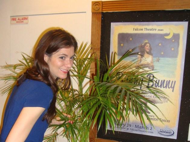 Bunny Bunny star Erin Pineda, photo by Margie Barron