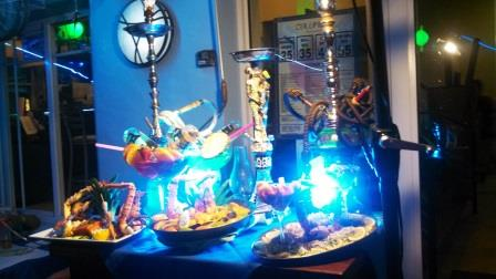 Hookahs and gyrating crustaceans