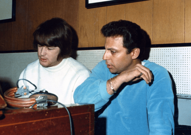 Brian Wilson and Hal Blaine