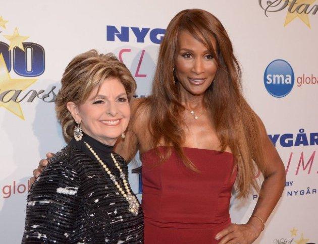 Gloria Allred and Beverly Johnson  at Night of 100 Stars