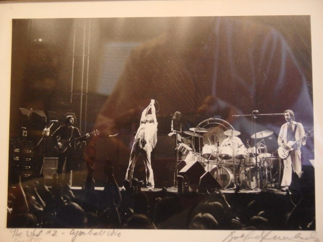 The Who, Buffalo NY December 1975 (photo by Brad Auerbach)