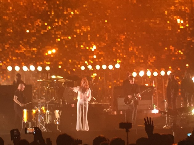 Florence + The Machine (photo by Matt Haase)