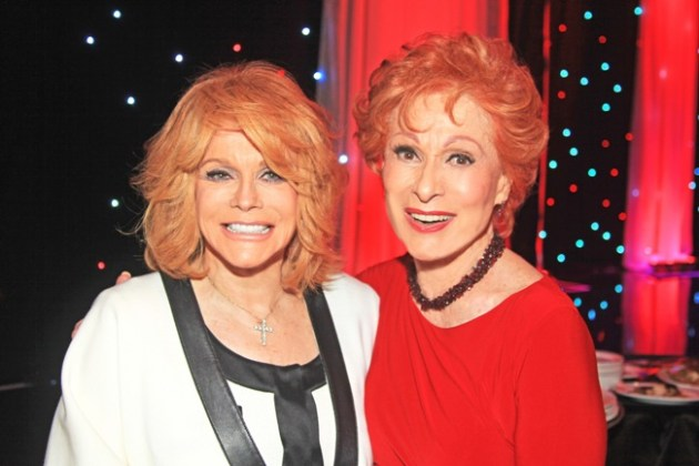 Actresses Ann Margaret & Carol Lawrence at Gypsy Awards