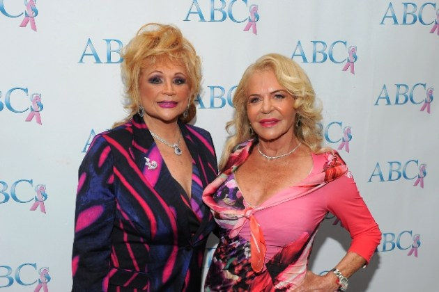 Luncheon co-chairs Sheri Rosenblum and Beverly Cohen (Photo credits to Vince Bucci)