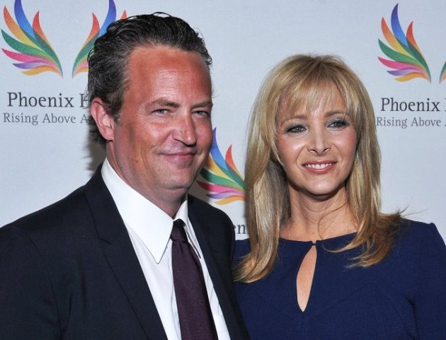 Matthew Perry & Lisa Kudrow (Friends) at Triumph for Teens