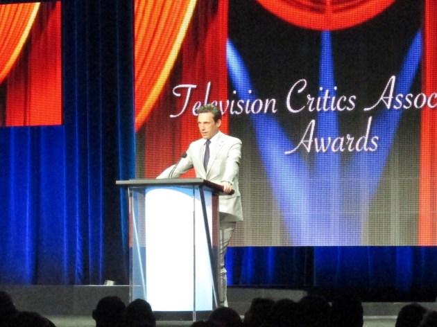 John Hamm at TCA Awards (photo by Margie Barron)