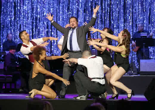 Chaz Bono performed at LesGirls15 (photo by ToddWiliamson/WireImage)