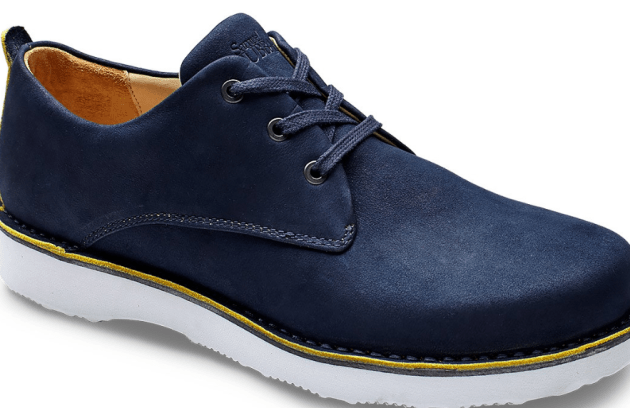 Hubbard Free in Navy Nubuck - not to be stepped on