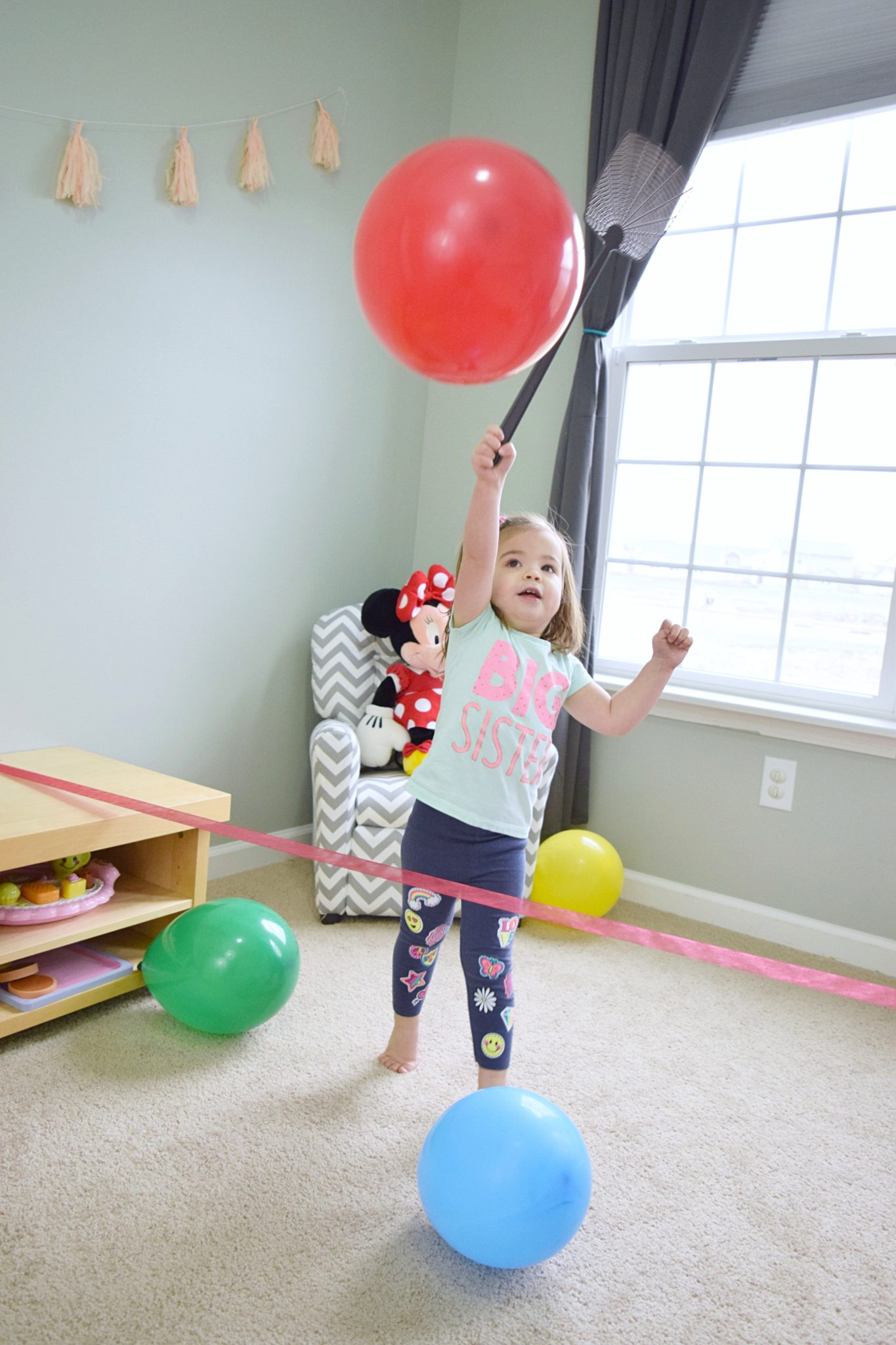 Tennis For Toddlers Balloon Olympics 7 Sports Kids Can Play With Balloons Entertain