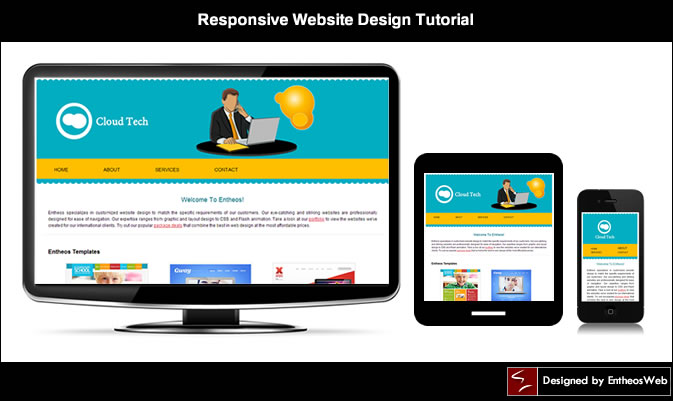 Responsive Website Design Tutorial - Responsive Media