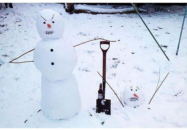21-most-creative-snowmen-of-2016