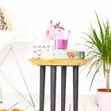IKEA Hack : DIY Chopping Board Side Table