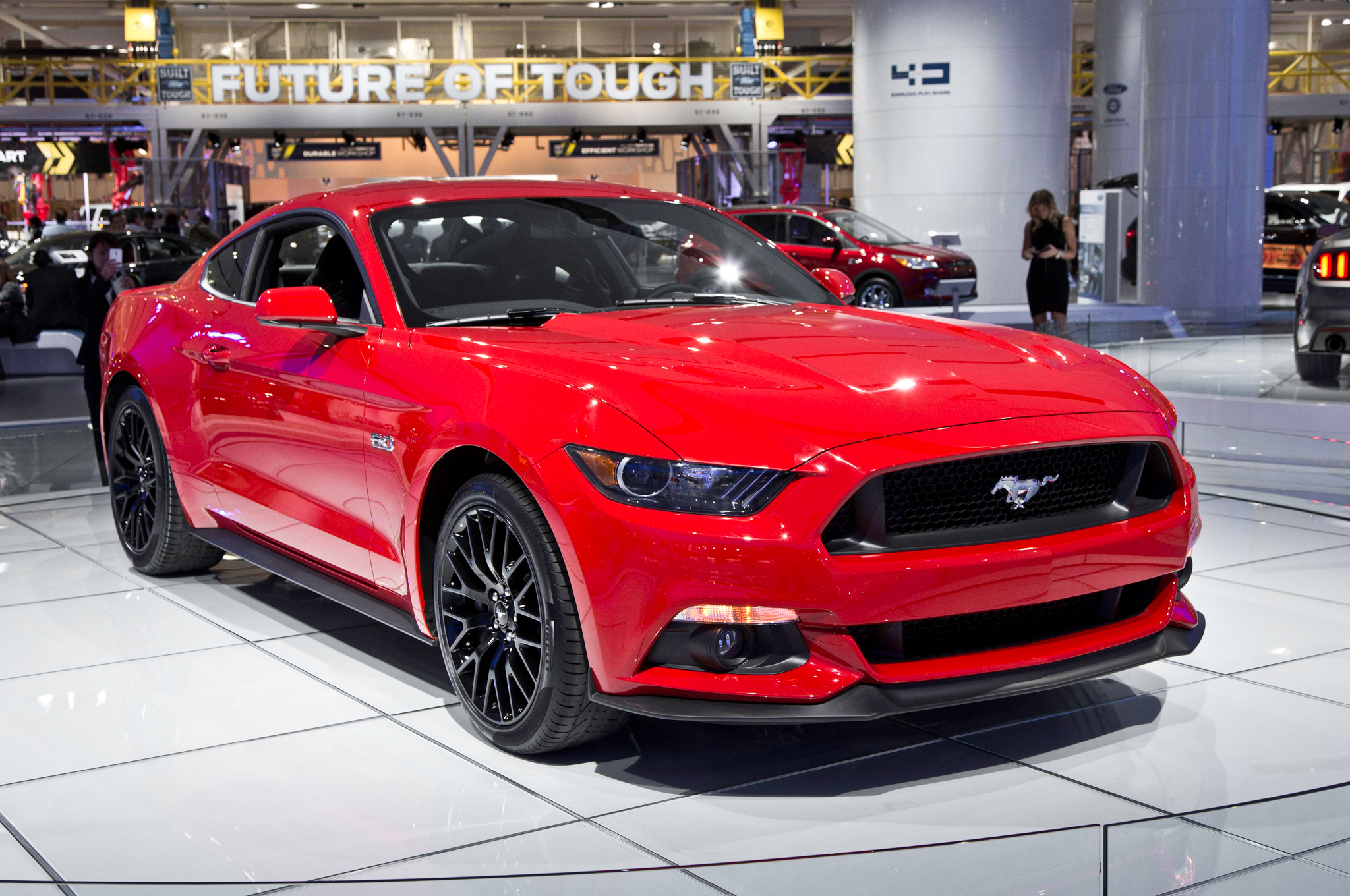 2015 Mustang Gt Pictures First 2015 Ford Mustang Gt Hitting The Auction Block Motortrend