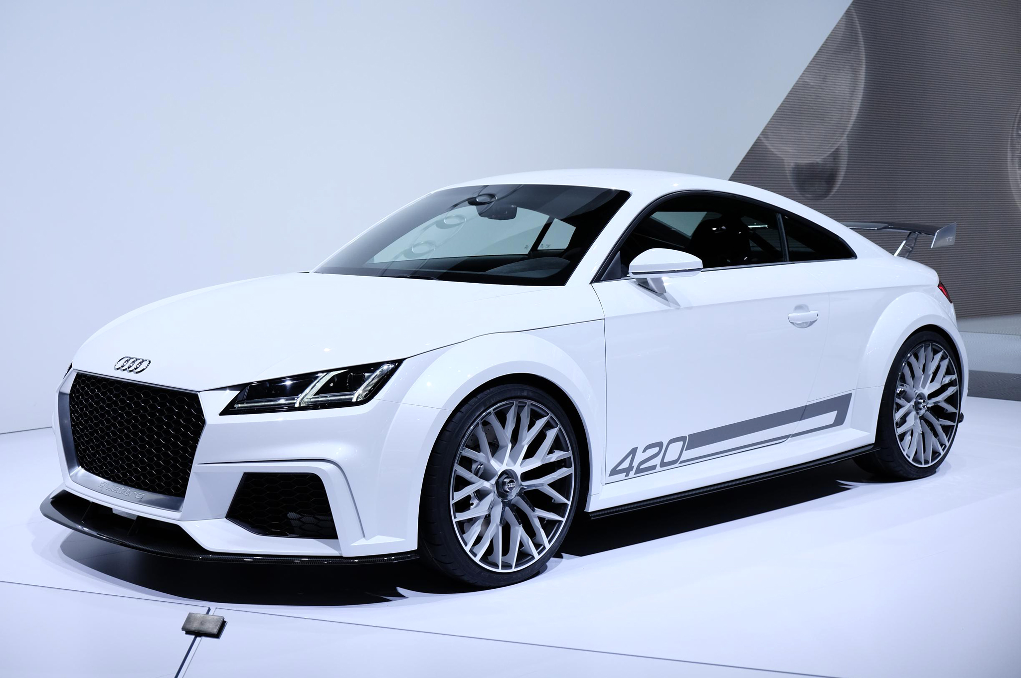 Garage Audi Tours 420 Hp Audi Tt Quattro Sport Concept Shown At Geneva Motortrend