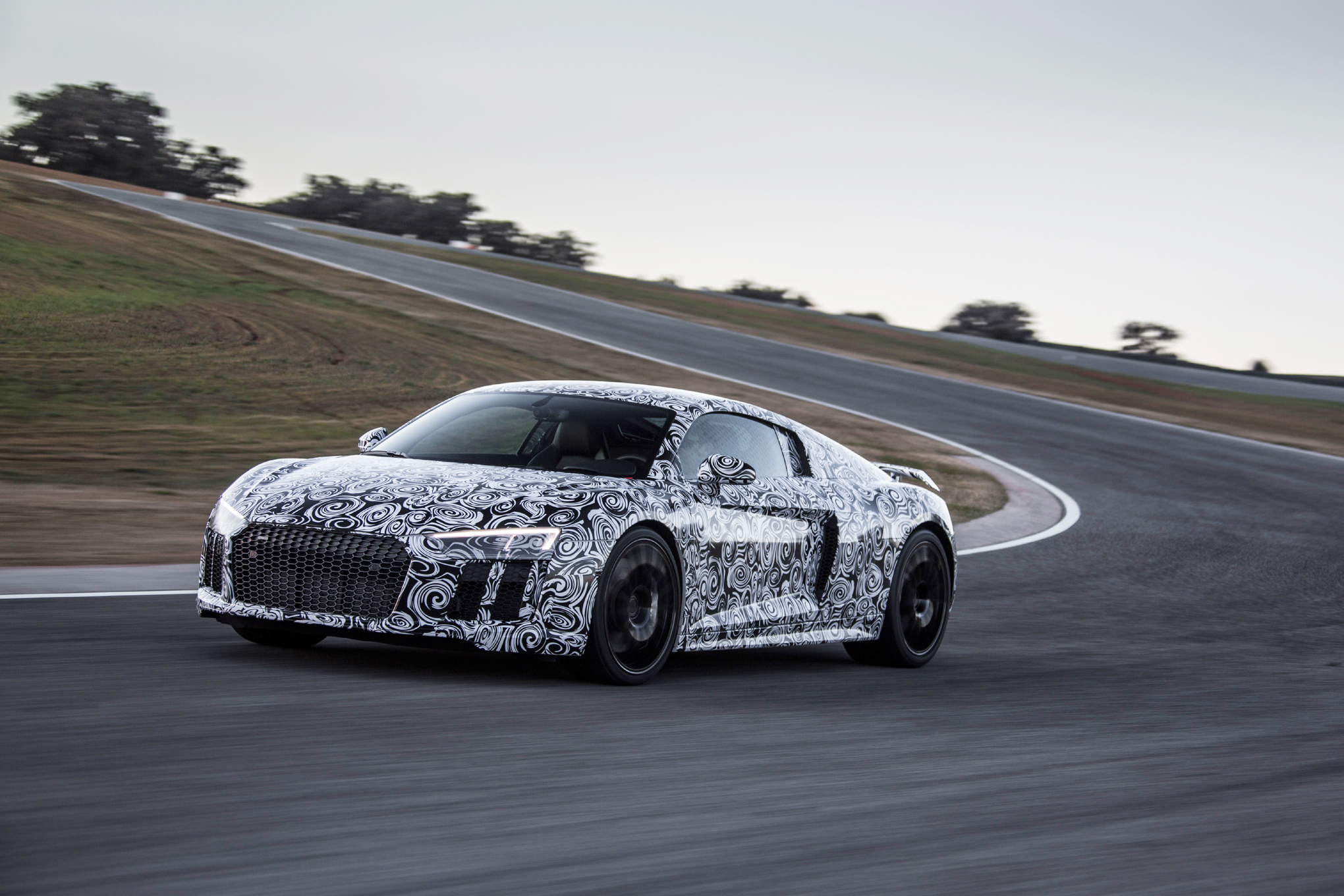 Garage Audi Tours Second Gen Audi R8 V10 Plus Prototype First Ride Motortrend