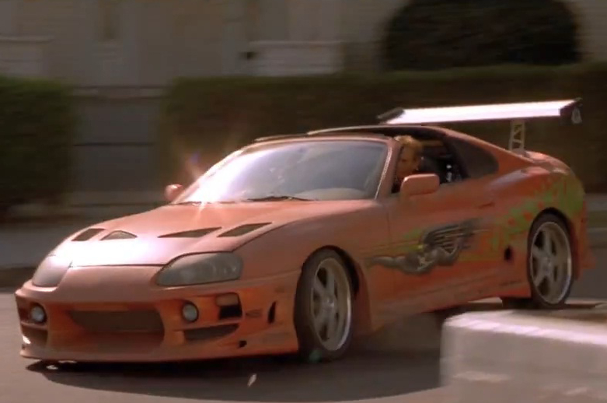 Toyota Supra From The Fast And The Furious Top 20 Cars Of