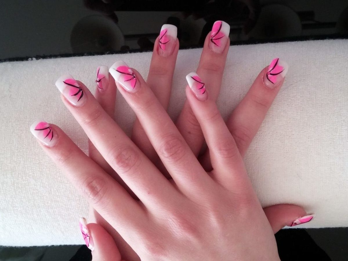 Gelnägel Pink Gelnägel Acrylnägel Pink Entire Beauty Styling In Salzburg