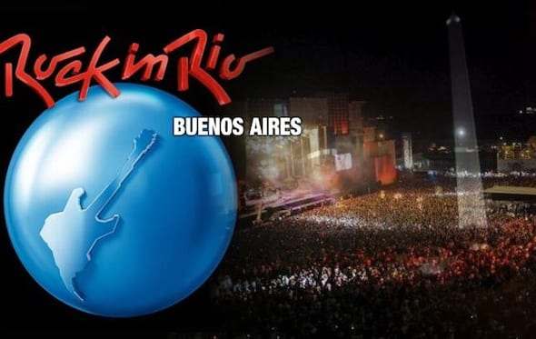 Entradas para Rock in Rio Buenos Aires 2014