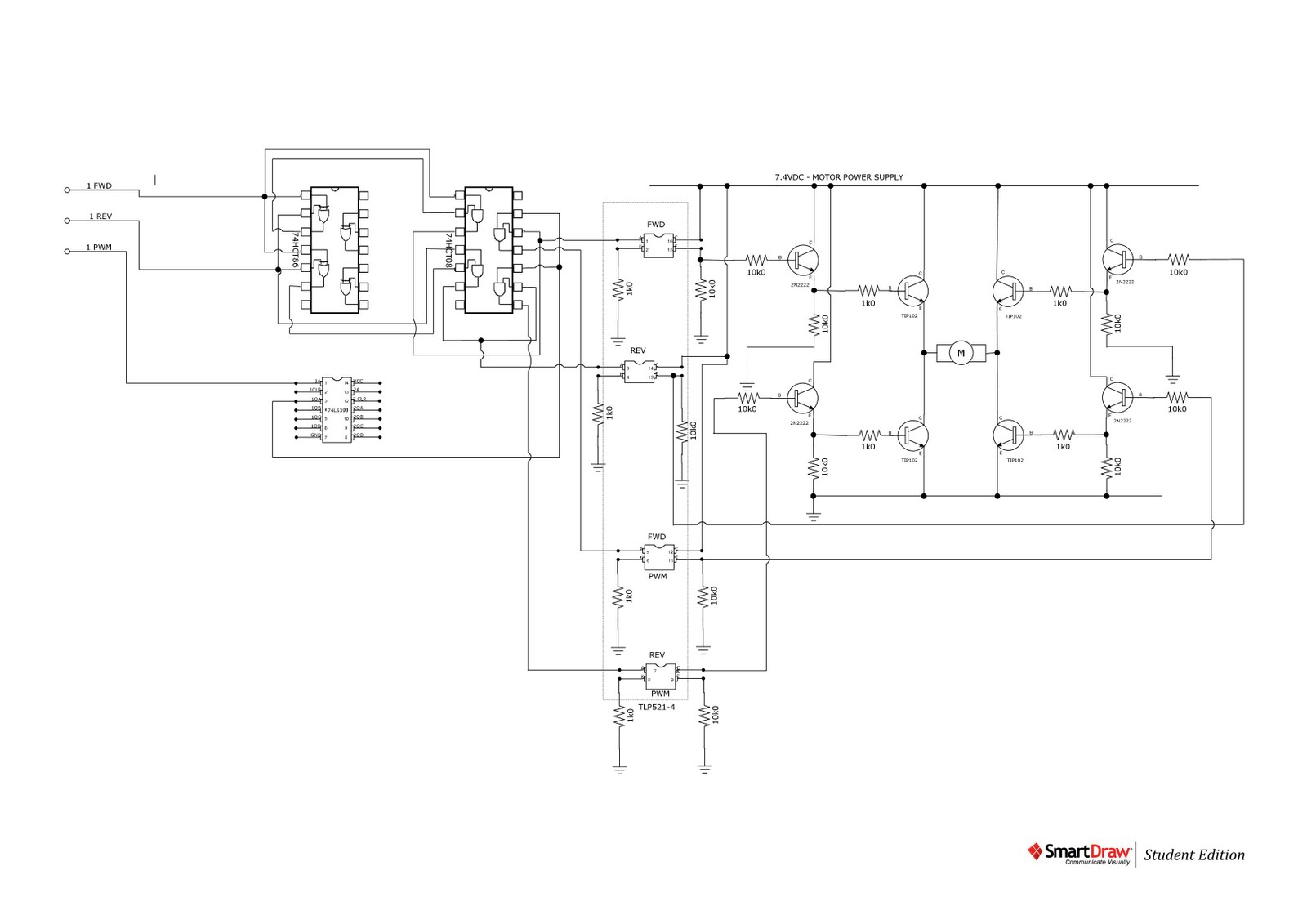 circuit diagram of bluetooth device
