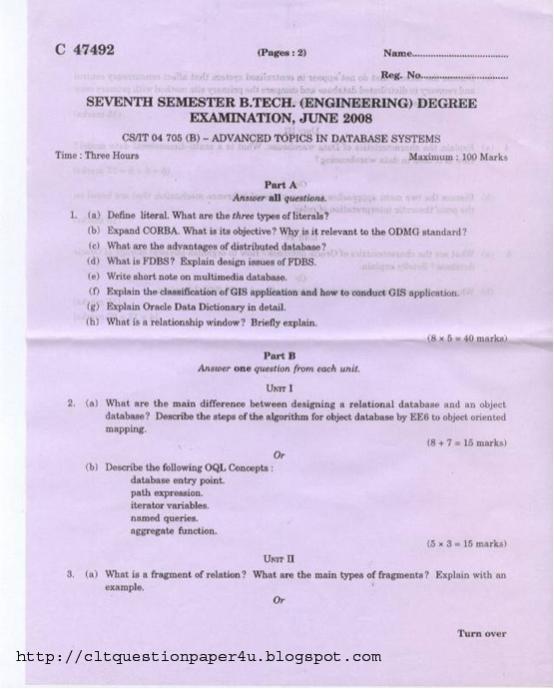 Jee Main Sample Papers Jagranjosh Exam Prep Government Calicut University Be Electronics And Instrumentation