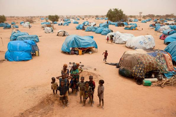 Refugiados malienses en Níger. / ONU Photo