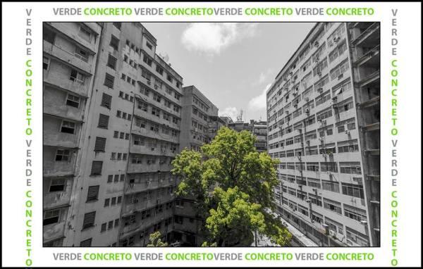 """Série de Fotografias """"Verde Concreto"""""""