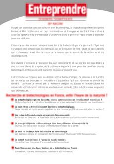 Dossier-Recheche et biotechnologies - Entreprendre_Page_2