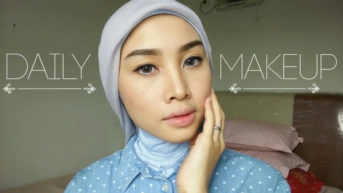 konten video youtube tutorial makeup Irna Dewi
