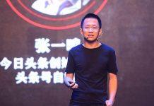 zhang yiming, founder atau pendiri aplikasi video tik tok