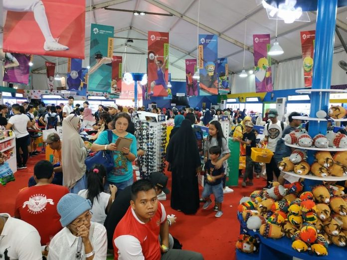 bisnis merchandise asian games 2018