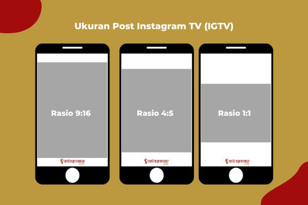 Ukuran Post Instagram TV (IGTV)