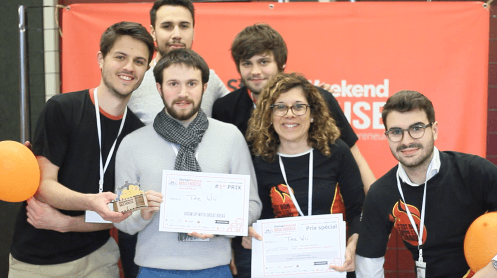Teewii gagnant du Start-up Week-end