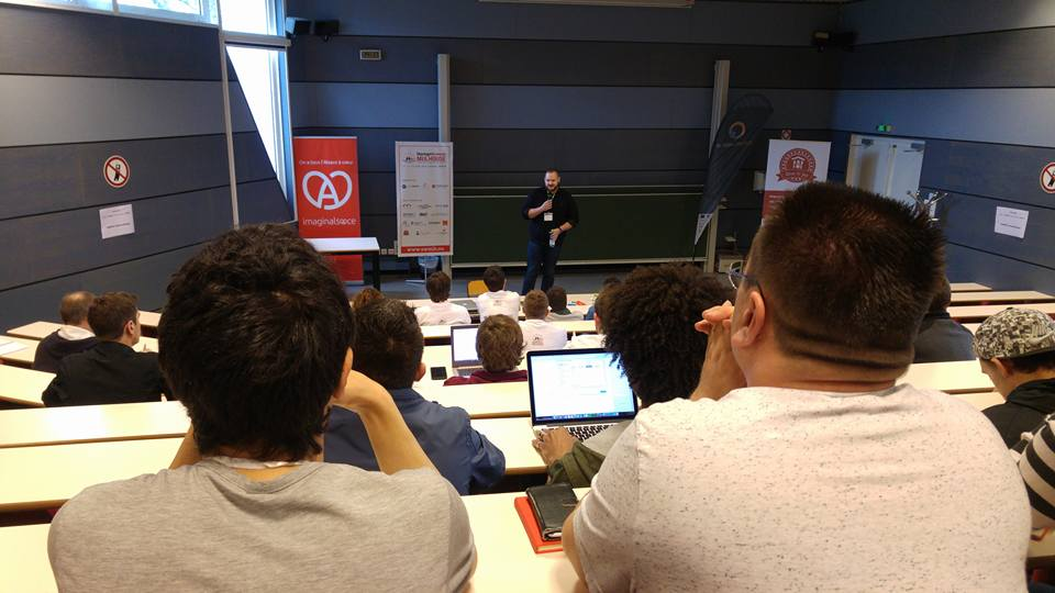 Les pitchs du startup week-end de Mulhouse 2016